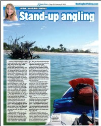 Waterline Article on SUP Fishing