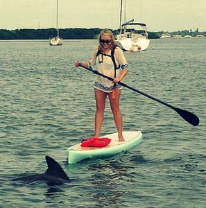 Meet the owner of SUP Englewood. Nicole Killian grew up in Englewood, Florida.