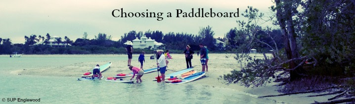 Picking the best paddle board